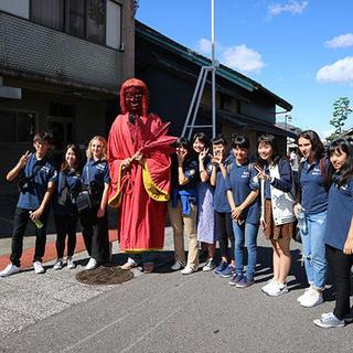 青少年交換委員会 有松山車祭りに参加