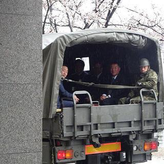 陸上自衛隊守山駐屯地訪問と優良自衛官表彰について