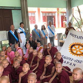 ミャンマー国マンダレー市域の内戦孤児院への設備支援